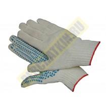 Перчатки  с ПВХ-покрытием, перчатки х/б, 5-ти нитка, класс 10