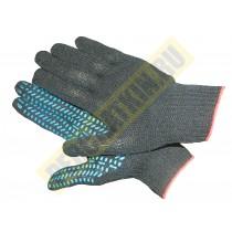 Перчатки с ПВХ - покрытием, перчатки х/б, 4-х нитка, класс 10