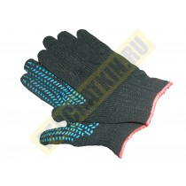 Перчатки двойные ХБ с ПВХ -покрытием