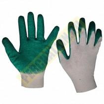 """Перчатки с одинарным латексным покрытием, """"Люкс"""", х/б, класс 13"""
