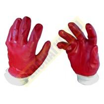 """Перчатки маслобензостойкие, с полным нитрильным обливом, """"Гранат""""."""